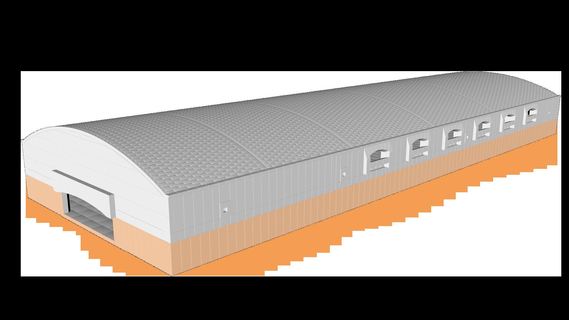 float glass furnace Tiles AZS Scenario